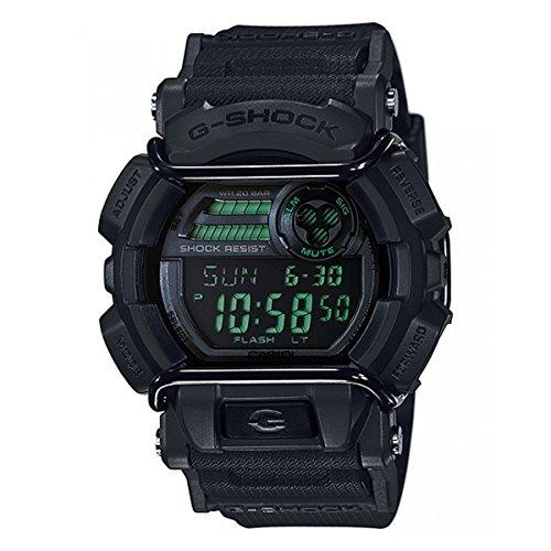 (Casio Men's G-Shock GD400MB-1 Black Resin Quartz Watch)