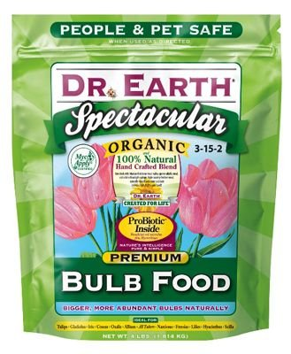 Dr. Earth 700P Organic 1 Bulb Fertilizer in Poly Bag, 4-Pound