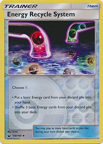 Energy Recycle System - 128/168 - Uncommon - Reverse Holo - Celestial - Energy Card Uncommon