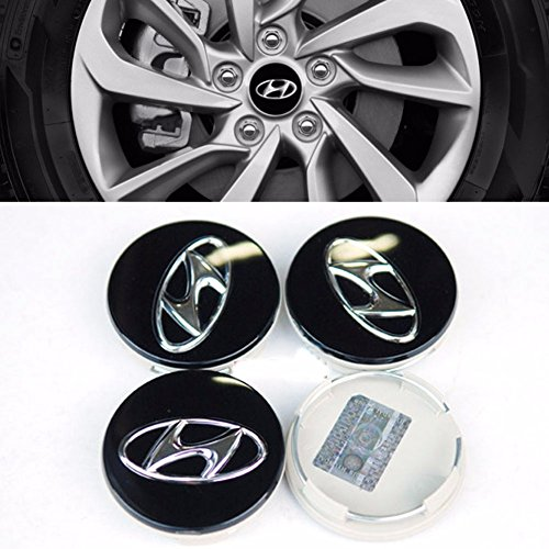 Center Wheel Hub Cap set 4PCS For Hyundai 2010-2015 Tucson Sonata OEM Parts