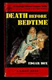 Death Before Bedtime, Edgar Box, 039474053X