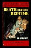 Death Before Bedtime, Edgar Box, 039474053X