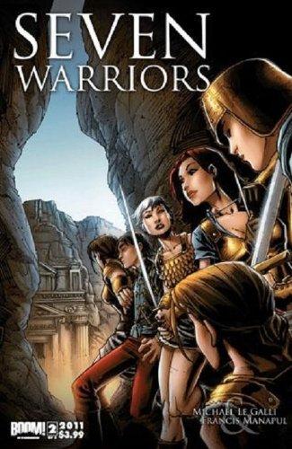 Seven Warriors Issue 2 of 3 December 2011(refBIB000x3) ebook