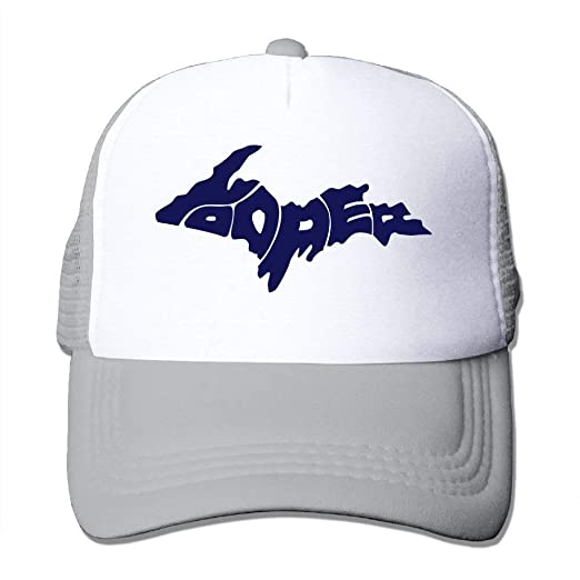 Amazon com: FEAIYEA Yooper 1 Big Foam Snapback Caps Mesh Back
