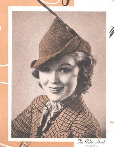 The Robin Hood Crochet Hat Tam Pattern