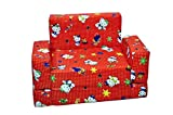 House Of Gift Sofa Cum Bed For Kids (Fabric, Multicolor)
