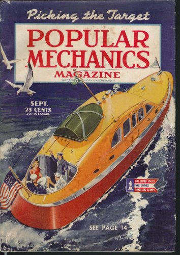 POPULAR MECHANICS Warship Repair; Trains; Farm Chemicals 9 1944 - Farm Repair