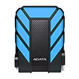 ADATA HD710 Pro 3TB USB 3.1 IP68 Waterproof/Shockproof/Dustproof Ruggedized External Hard Drive, Blue (AHD710P-3TU31-CBL)