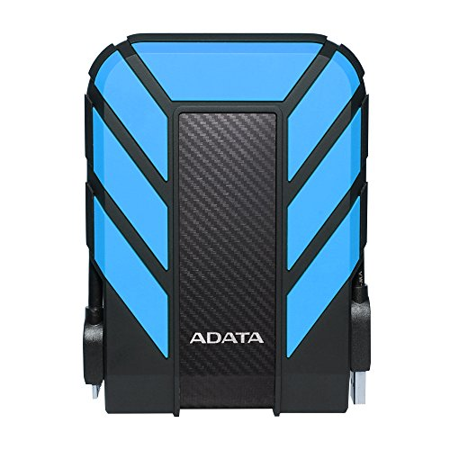 ADATA HD710 Pro 3TB USB 3.1 IP68 Waterproof/Shockproof/Dustproof Ruggedized External Hard Drive, Blue (AHD710P-3TU31-CBL) by ADATA