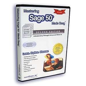 Mastering Sage 50 Made Easy v. 2013 (U.S. Version) Video Training Tutorial DVD-ROM
