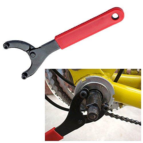 VANKER Bicycle Bike Adjustable Cone Bottom Bracket Wrench Sprocket Remover Repair Tool
