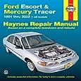 Ford Escort & Mercury Tracer, 1991-2002 (Haynes Repair Manual)