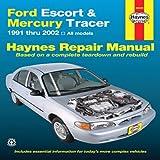 Ford Escort & Mercury Tracer 1991-2002: All Models (Haynes Repair Manual) offers