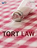 Tort Law, Kirsty Horsey, Erika Rackley, 0199661898