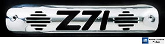 All Sales 32020P Black Billet Aluminum 3rd Brake Light Cover