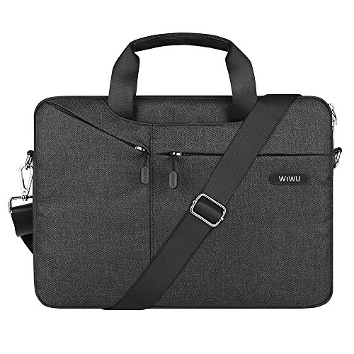 Best Review Of WIWU 15.6 inch Laptop Bag, Travel Briefcase with Organizer, Multi-Pockets Shoulder Ba...