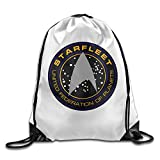 NEVA Star Trek Logo Gym Drawstring Bags/Backpack Bags