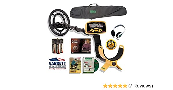 Amazon.com : Garrett Ace 250 Sportsman Package with Detector Carry Bag Plus Headphones : Garden & Outdoor
