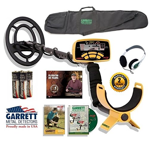 Garrett Ace 250 Sportsman Package with Detector Carry Bag Plus (Ace 250 Garrett Metal)