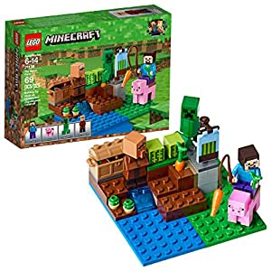 Amazon.com: LEGO Minecraft The Melon Farm 21138 Building ...