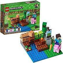 [Patrocinado] Kit de construcción de LEGO Minecraft. La granja de melones 21138 (69 piezas)