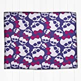Monster high Beasties Rotary Fleece Blanket, Multi-Colour