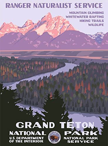 Amazon Com Ford Grand Teton National Park Poster Posters Prints