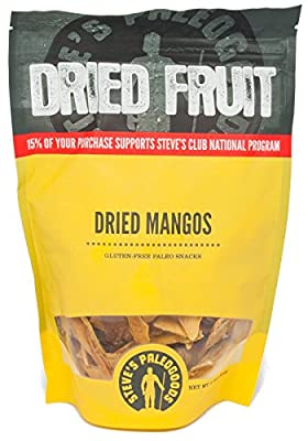 Paleogoods Dried Fruit, Dried Mangos, 6 oz