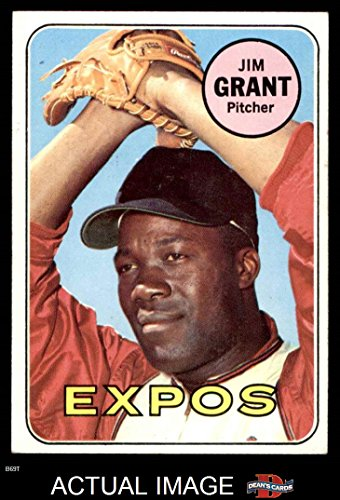 1969 Topps # 306 Mudcat Grant Montreal Expos (Baseball Card) Dean's Cards 6 - EX/MT Expos