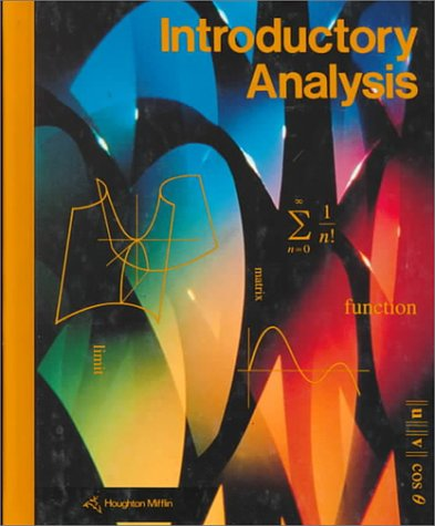 Introductory Analysis/Grade 12 (2-12700)