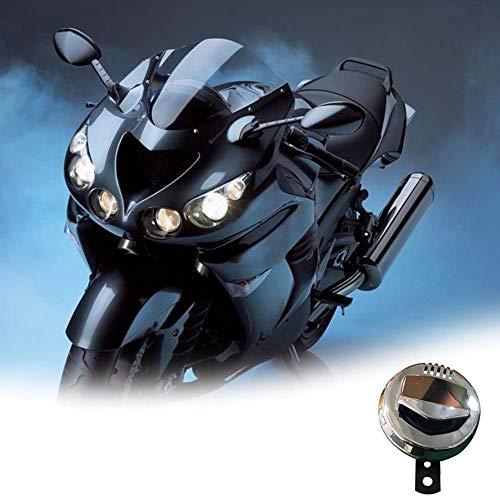 Universal 94 Mm 12 V 2A 110 Db Laute Horn Roller Moped Dirt Bike Atv Motorrad