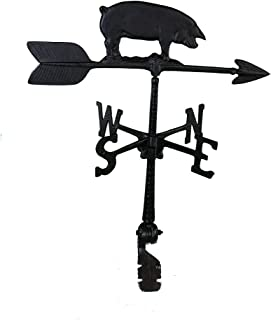 product image for Montague Metal Products 24-Inch Weathervane with Pig Ornament