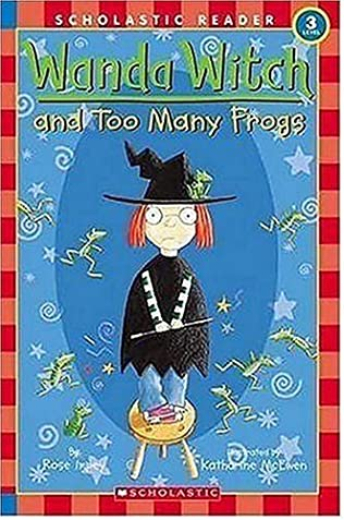 book cover of Wanda Witch And Too Many Frogs