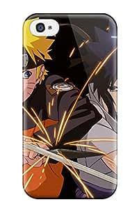 Case Cover Naruto Vs Sasuke Anime/ Fashionable Case For Iphone 4/4s