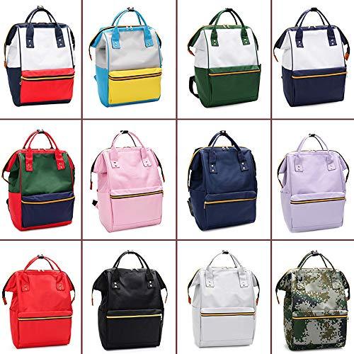 G Estudiante Style Hombres Lona Mochila Zouqilai Casual Viaje Bolsa color Escolar Mujeres J Coreanos Y De Portátil BnZwxI6qw
