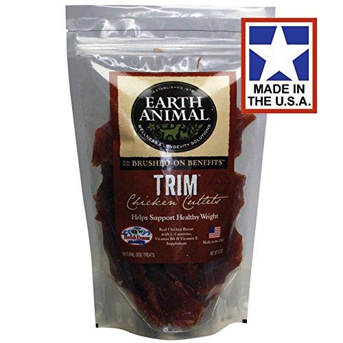 Earth Animal Chicken Cutlets, Trim, 10 oz