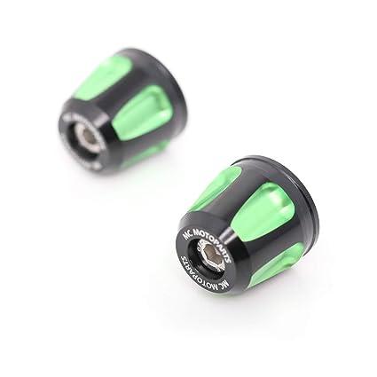 Amazon.com: Green KAIXA CNC Bar Ends Sliders For Kawasaki ...