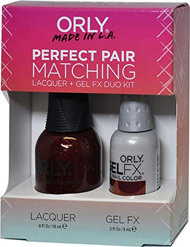 マーキースカイ帝国主義Orly Nail Lacquer + Gel FX - Perfect Pair Matching DUO - Star Spangled