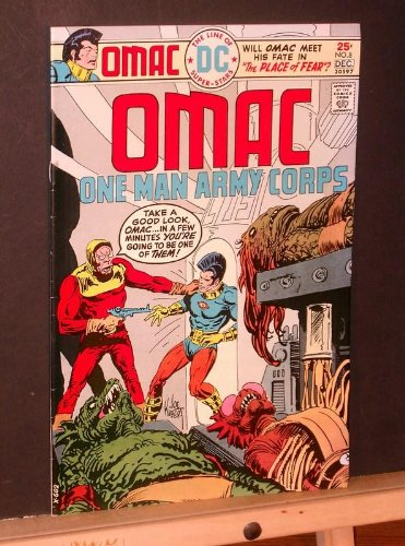Omac #8 (One Man Army Corps)
