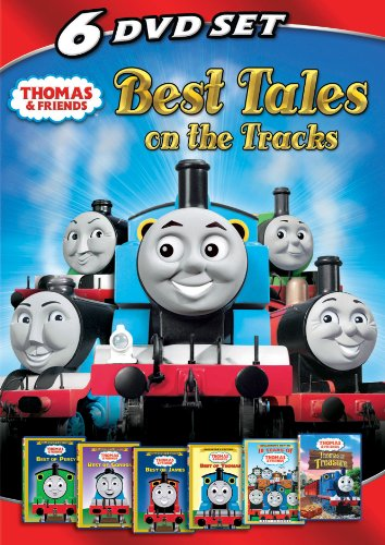 Thomas & Friends: Best Tales on the Tracks - Collector's Edition (Best of Percy / Best of Gordon / Best of James / Best of Thomas / 10 Years of Thomas & Friends / Thomas and the Treasure) (Thomas And Friends Best Of James)