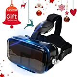 VR Headset Virtual Reality Glasses for 3D Movies & VR Games, More Lighter More Comfortable, 120° Large Viewing Angle, Amazing Immersive Experience, Fit for iPhone & Android Phones within 4.7″-6.2″ Review