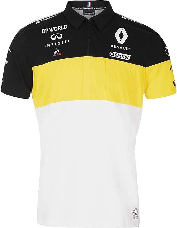 Renault F1 2020 Team Daniel Ricciardo T Shirt Herren Schwarz Bekleidung