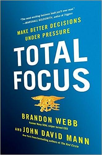 amazon total focus make better decisions under pressure brandon