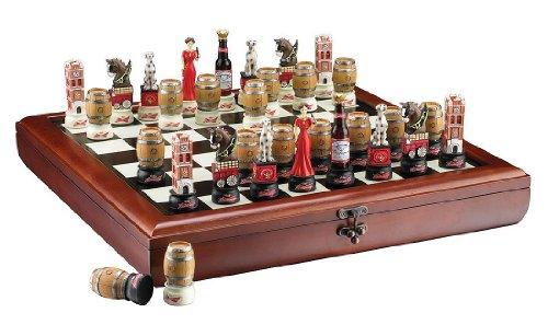 budweiser-chess-set