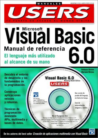 Microsoft Visual Basic 6.0: Manual De Referencia (Manuales Compumagazines)