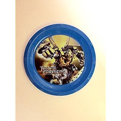 Transformers: Revenge of the Fallen plastic plate- Kids Transformers dinnerware: Toys & Games