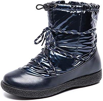 スノーブーツ メンズ レディース ヒール 3cm ムートンブーツ 黒 スノーシューズ 綿靴 雪靴 ウィンターシューズ 防滑 防水 保暖 裏起毛 冬用 カジュアル アウトドア