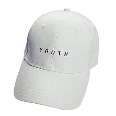 Gorras De Béisbol Unisex Jóvenes Bordados Damas Niños Hombres Niñas Hip Hop Mode De Marca Algodón