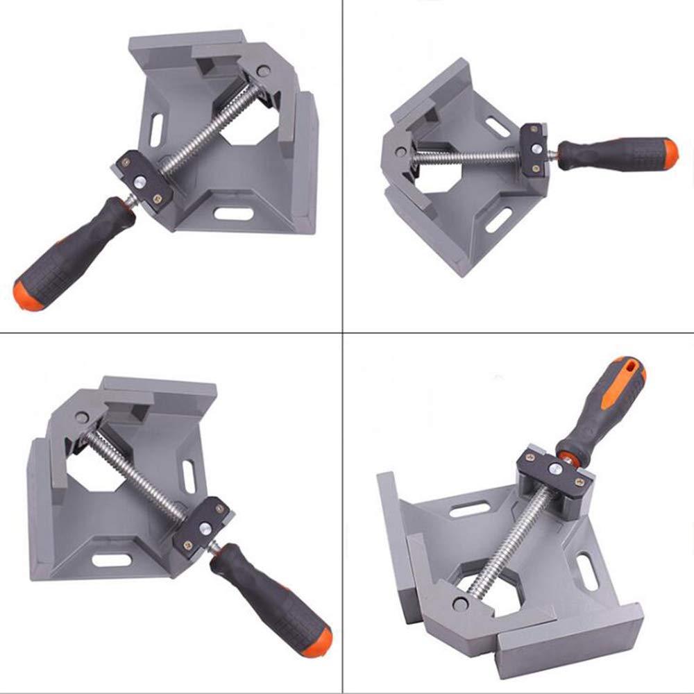 pince de soudage dangle outil de banc r/églable pince de coin pivotante r/églable MAYLINE Support de pinces dangle /à angle droit 90 degr/és parfait pour le soudage de charpentier