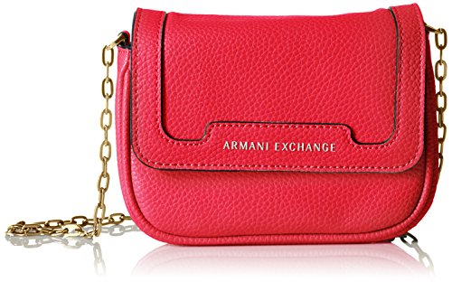 A X Armani Exchange Pebbled Faux Leather Crossbody  8abc0d4151936